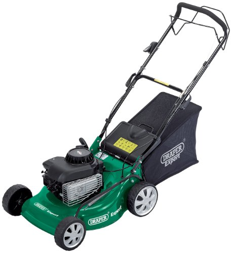 Draper Expert 76791 460 mm 4-Horsepower Petrol Mower with Briggs and Stratton Engine Test