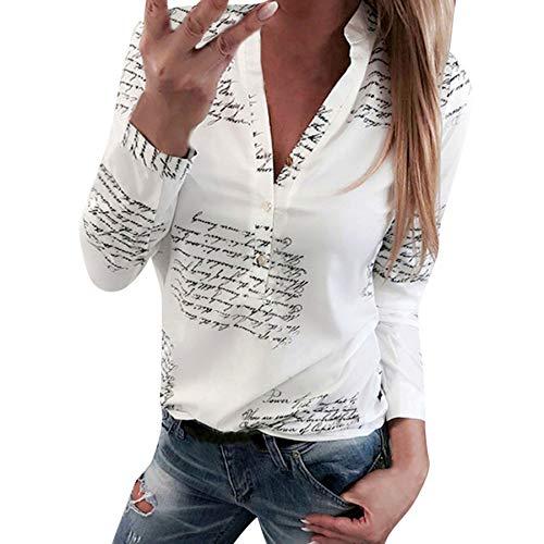 Proumy Camiseta Blanca Mujer Impresión