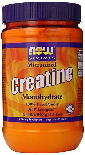 CREATINE MICRONIZED 0.5kg by Now Foods, 500g