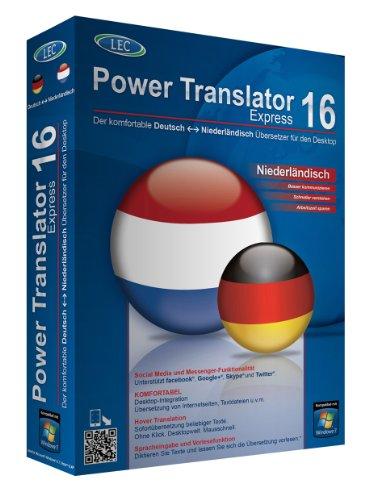 Power Translator 16 Express Deutsch-Niederländisch