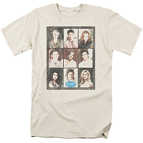 2Bhip Melrose Place CBS TV Series Season 2 Cast Squared Adult T-Shirt Tee