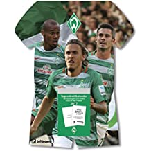 Werder Bremen Kalender 2017 - Tagesabreißkalender Fußball, Fankalender  -  24 x 30 cm