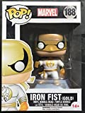 Funko 11181 - Marvel Comics, Pop Vinyl Figure 188 Iron Fist White And Gold