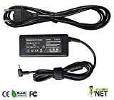Alimentatore Caricabatteria Caricatore 40W 19V 2.1A per Asus Eee Pc 1015PD X101CH 1011PX 1101HA | EXA0901XH | EXA1004EH | 90-XB02OAPW00100Q | EXA1004EH | ADP-40PH AB | Ext: 2.5 * Int: 0.7 mm