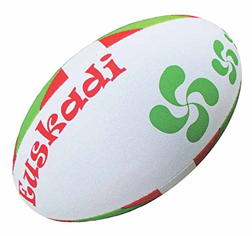 Ballon de rugby - Basque Euskadi - Collection supporter - Taille 5 [Divers]