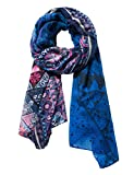 Desigual Women's Foul_New Magic_Rectangle Scarf, (Borgoña Claro 3041), One (Size: U)