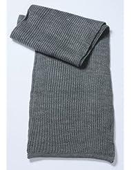 Strick-Schal/Myrtle Breach (MB 504), dark-grey melange