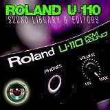 Para Roland u-110enorme cartucho Original de fábrica nueva biblioteca de sonido creado y editores en CD