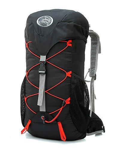 HWB/ 35 L Tourenrucksäcke/Rucksack / Travel Organizer / Rucksack Camping & Wandern DraußenWasserdicht / Schnell abtrocknend / tragbar / Black