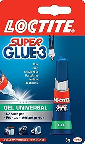 Colle Loctite - Loctite Super Glue-3 Gel Universal Tube 3