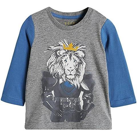 ESPRIT 105EEBK009 Lion TS-T-shirt  Bimba 0-24 - Gunmetal Moda