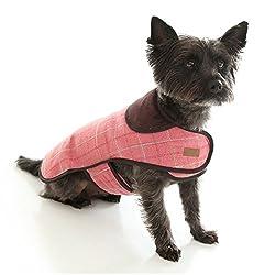 Doodlebone Tweed Dog Jacket With Harness Hole