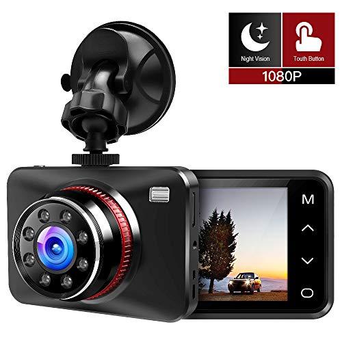 Dash Cam Night Vision 1080P Full...