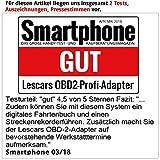 Lescars Diagnosegerät: OBD2-Profi-Adapter, Bl...Vergleich