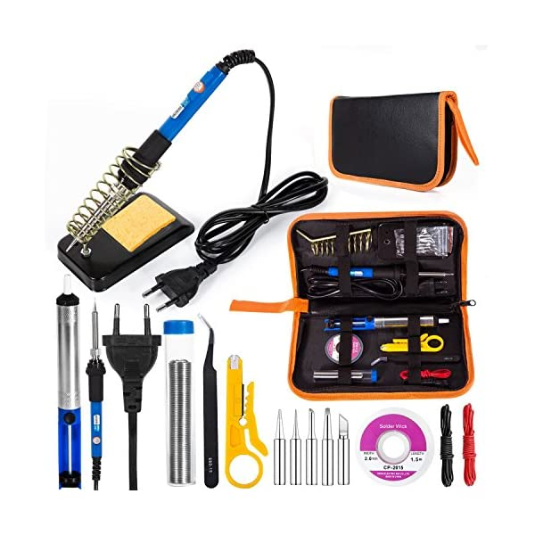 Kit de Soldador Eléctrico, Eletecpro sudor de herramientas de temperatura
