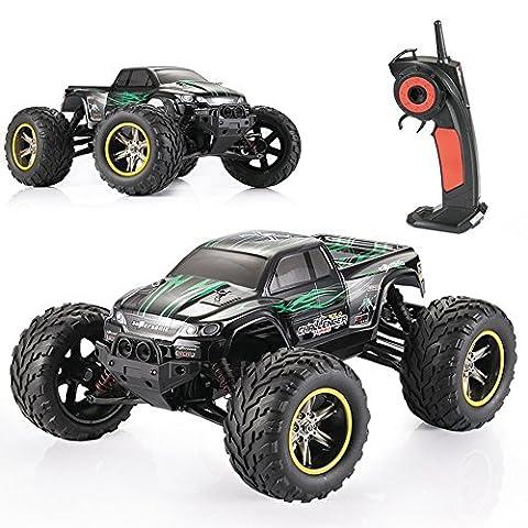 GPTOYS S911 1/12 Échelle 2.4GHz 2RM 33MPH haute vitesse Télécommande Off Road Cars Classic Toys Hobby / camion moster (vert)