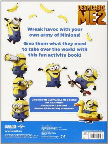 Image of Despicable Me 2: Make a Minion Sticker Book