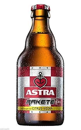 9 Flaschen Astra Rakete a 0,33L Citrus-Vodka 5,9% vol. inc
