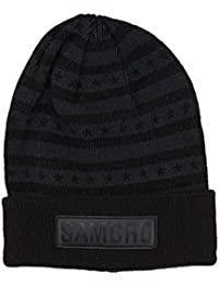Sons Of Anarchy Samcro Patch Knit Cuff Beanie Hat