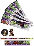 4 x Packungen Schreibset Design Dinosaurier Kinder Schule Briefpapier Set.4 tlg. Bleistift