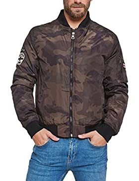 Lonsdale Chaqueta Hombre Bomber Air Force