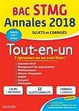 Annales Bac - 2018 Le Tout-En-Un Term STMG