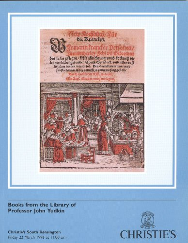 Books on food, drink and disease from the library of Professor John Yudkin
