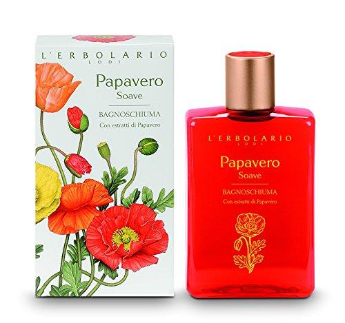 L'Erbolario Papavero Soave Bade und Duschgel, 1er Pack (1 x 250 ml)