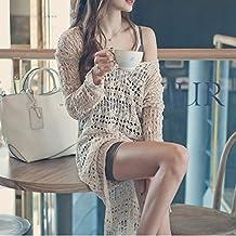 La versión de gancho de blusa falda falda bikini Beach Bali tejer ropa de protección de malla