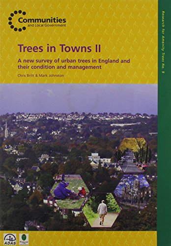 Trees in towns II: a new survey of urban trees in England and their condition and management