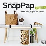 SnapPap kreativ: Ideen aus veganem Leder 15 Handarbeitsbücher für Stricker, Häkler und Näher