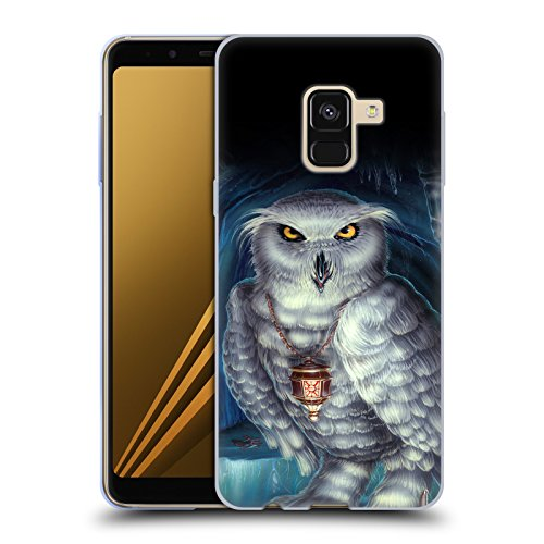 Head Case Designs Offizielle Ed Beard Jr Botschafter Euele von Dem Zauberer Fantasie Soft Gel Hülle für Samsung Galaxy A8 Plus (2018)