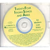 Twenty-Four Italian Songs And Arias Of The 17th And 18th Centuries - Medium Low Voice (CD). Für Gesang, Klavierbegleitung
