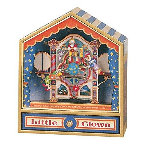 1. Trousselier - Caja musical de payasos equilibristas