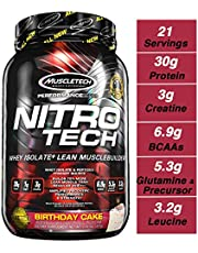 Muscletech Nitrotech 2 Lb Vanilla Birthday Cake