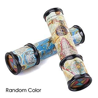 AIMADO Amiubo Kinder Kinder skalierbare Rotary Erweiterte einstellbare Spin Bunte Fantasy Kaleidoscopes Belegdrucker