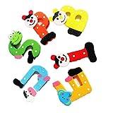 Elecenty Holzspielzeug Baby Lernspielzeug, 26 Stück A-Z Unisex Kinderspielzeug Lernspielzeug Hölzern Cartoon-Alphabet Pädagogisches Spielzeug (4,5 cm, Mehrfarbig)