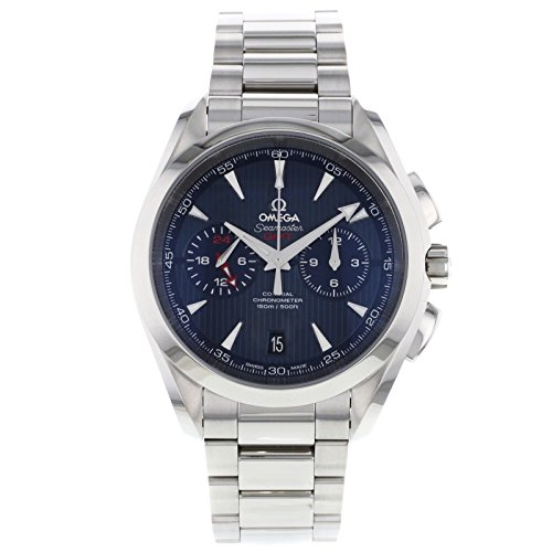 Omega 231.10.43.52.03.001/4Watch for Men, Stainless Steel Strap