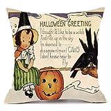 SEWORLD Happy Halloween Kissenbezüge Super Cashmere Sofa Kissenbezug Home Decor G