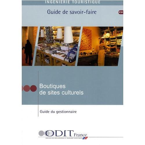 Boutiques de sites culturels - Guide du gestionnaire