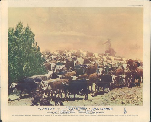 cowboy-original-lobby-card-bonanza-creek-ranch-cattle-drive-scene