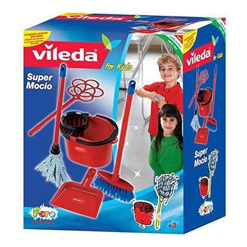 La nuova faro- vileda set moccio in box, multicolore, unogiochi_12081