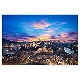 artboxONE Poster 90x60 cm Städte Bern #1