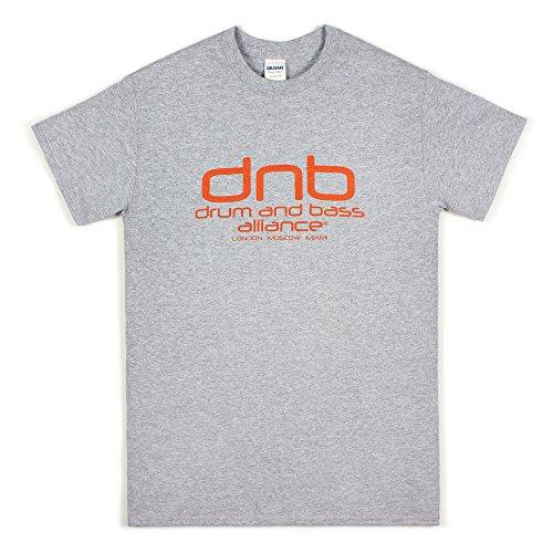 Strand Clothing Herren T-Shirt Grau Grau Gr. XX-Large, - Hospital Records-t-shirt