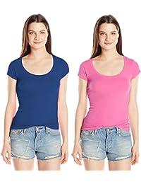 Fashion Line Women's Lycra Blend T-Shirt