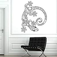 wangpdp Wall Vinyl Lizard Gecko Animal Ornament Mural Modern Home Furnishing National features In Style Wall Stickers 57 * 69cm