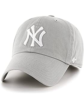 Unbekannt '47Adultos Tapa MLB New York Yankees Clean Up, Unisex, Kappe MLB New York Yankees Clean Up, Gris, Talla...