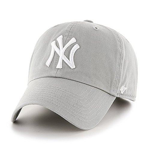47-adultos-tapa-mlb-new-york-yankees-clean-up-unisex-kappe-mlb-new-york-yankees-clean-up-gris-talla-