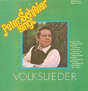 Peter Schreier - Peter Schreier Singt Volkslieder - ETERNA - 8 35 060