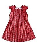 Mayoral Vestito A Pois per Bambina, 3 Anni (98cm), Rosso
